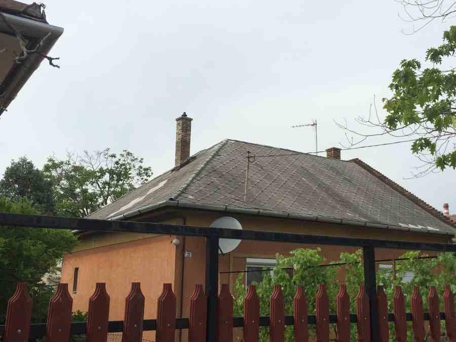 Régi tető cseréje